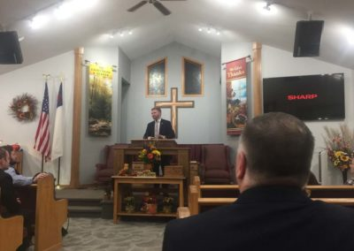 Old Paths Baptist Church Missionary Isaiah Hanson, Missions Conference