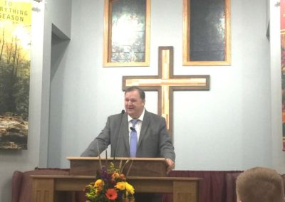 Old Paths Baptist Church Evangelist Tim Booth, Missions Conference