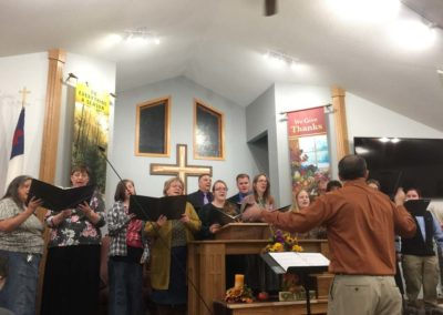Old Paths Baptist Church Choir, Missions Conference