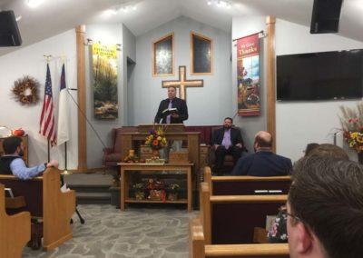Old Paths Baptist Church Bro. Matt Urban, Missions Conference