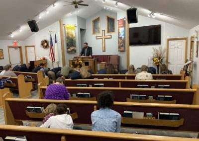 Old Paths Baptist Church Pastor Mast, Missions Conference