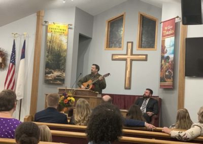 Old Paths Baptist Church Bro. Adam Tigges, Missions Conference