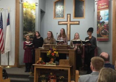 Old Paths Baptist Church Young Ladies Choir, Missions Conference